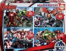 Otroške puzzle Avengers Educa 50-80-100-150 delov od 5 leta