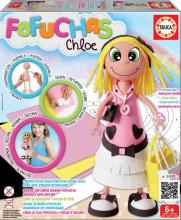 EDUCA 16363 Fofuchas Chloe brazílska módna bábika Glamour - obleč ju sama +6 rokov