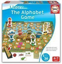 Joc educativ Ne jucăm cu cuvintele Educa 36 de bucăţi în limba engleză de la 4 ani