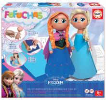 Păpuşi Frozen Regatul de gheață Fofuchas Educa Îmbracă-l singur de la 6 ani