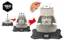 Puzzle 3D - Puzzle 3D Sculpture Hviezdne vojny Darth Vader Educa 160 dielov od 6 rokov_1