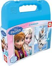 EDUCA 16514 puzzles Cases - Frozen 2x48 dielikov od 3 rokov