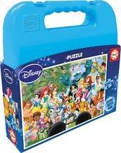 Otroške puzzle Zbirka Disneyjevih junakov Educa 100 delov od 5 leta