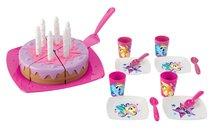 Narodeninová torta My Little Pony Ecoiffier ružova od 18 mesiacov 50*35*13 cm ECO1653