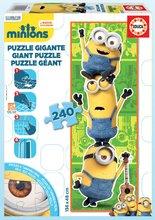 EDUCA 16553 podlahové puzzle GIANT MINIONS 3 postavičky Minions 240 dielikov