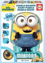 EDUCA 16554 podlahové puzzle GIANT MINIONS 1 postavička 250 dielikov