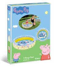 Detské bazéniky - Peppa Pig nafukovací bazén Mondo trojkomorový 100 cm od 10 mes_1