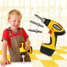 Nářadí a nástroje - SMOBY 500091 Worko vŕtačka elektrická 18