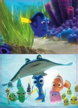 Drevené Disney puzzle - Drevené puzzle Hľadá sa Dory Educa 2x 25 dielov_0
