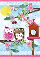 Puzzle 500 dielne - Puzzle Scrap Valentine Art Educa 500 dielov + ozdoby na nalepenie od 11 rokov_0