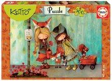 EDUCA 16740 puzzle Ketto - Adele 500 dielikov + ozdoby na nalepenie od 11 rokov