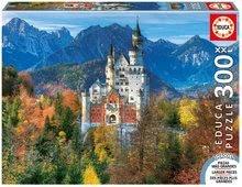 Puzzle Genuine XXL Kastély Neuschwanstein Educa 300 db 12 évtől