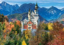 Puzzle 500 dielne - Puzzle Genuine XXL Zámok Neuschwanstein Educa 300 dielov od 12 rokov_0