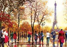 Puzzle 500 dielne - Puzzle Genuine XXL Eiffelova veža Educa 300 dielov od 12 rokov_0
