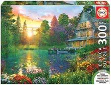 EDUCA 16746 puzzle Genuine XXL Sunset with Grandpa 300 dielikov od 12 rokov