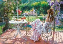 Puzzle 1000 dielne - Puzzle Genuine Among wisterias, Vicente Romero Educa 1000 dielov od 12 rokov_0