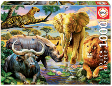Puzzle Genuine The big five Educa 1000 db 12 évtől