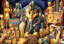 Puzzle 1000 dielne - Puzzle Genuine Treasures of Egypt Educa 1000 dielov od 12 rokov_0