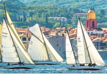 Puzzle 1000 dielne - Puzzle Genuine Sailing at Saint-Tropez Educa 1000 dielov od 12 rokov_0