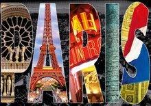 Puzzle City collages, Paris Educa 1000 dílů od 12 let