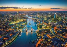 Puzzle 1500 dielne - Puzzle Genuine Letecký pohľad na Londýn Educa 1500 dielov_0