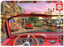 Puzzle Genuine Paříž v autě Educa 1 500 dílů