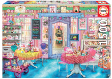 Puzzle Genuine Obchod s koláčky Educa 1 500 dílů