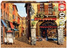 Puzzle Genuine Colors of Italy - Salumeria, Viktor Shvaiko Educa 1 500 dílů