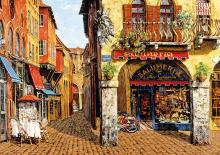Puzzle Genuine Olaszország színei - Salumeria, Viktor Shvaiko Educa 1 500 db 13 éves kortól