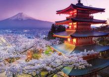 Puzzle 2000 dielne - Puzzle Genuine Mount Fuji, Japan Educa 2000 dielov_0