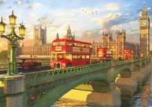 Puzzle Genuine Westminster Bridge, London Educa 2000 dílů od 13 let