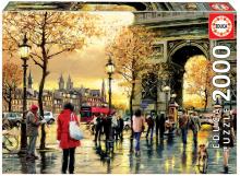 Puzzle Genuine Arc de Triomphe Educa 2000 db 13 éves kortól