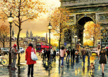Puzzle Genuine Arc de Triomphe Educa 2000 dílů od 13 let