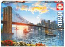 Puzzle Genuine Brooklyn Bridge Educa 4000 delov od 15 leta