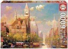Puzzle Genuine New York afternoon, Alexander Chen Educa 6000 delov od 15 leta