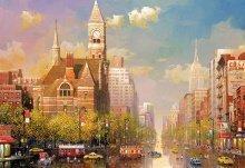 Puzzle Genuine New York afternoon, Alexander Chen Educa 6000 dílů od 15 let