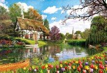 Puzzle Genuine Lakeside Cottage Educa 6000 dielov od 15 rokov