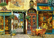 Puzzle Genuine La Palette Notre Dame, Viktor Shvaiko Educa 1000 db 12 éves kortól