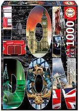 Puzzle City collages, London Educa 1000 db 12 évtől