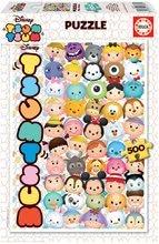 Puzzle Disney - Tsum Tsum 500 dielov + Fix puzzle lepidlo EDU16787
