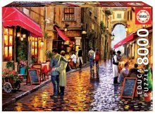Puzzle Genuine Cafe street Educa 8000 dílů od 15 let