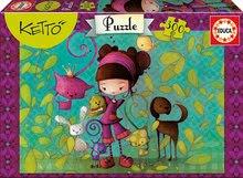 Puzzle Ketto s přáteli Educa 300 dílů od 8 let