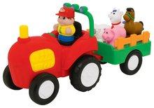 Traktor Activity Kiddieland se zvířátky a zvukem od 12 měsíců