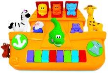 Piano Activity Noemova Archa Kiddieland so zvieratkami a zvukom od 12 mesiacov