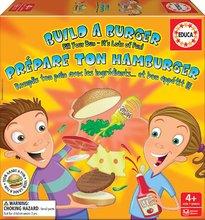 Joc de societate Build a burger Educa în Engleză de la 4 ani