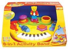 Staré položky - Activity piáno s medvědem Kiddieland elektronické od 18 měsíců_0
