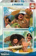 Puzzle Vaiana Disney Educa 2x48 darabos 4 évtől