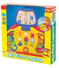 Hračky zvukové - Môj prvý laptop Activity Kiddieland so svetlom a zvukom od 12 mes_0