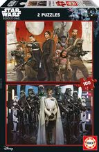 Puzzle Star Wars Story-Rouge One Educa 2x100 buc de la 5 ani
