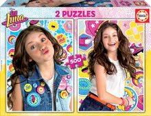 Puzzle Soy Luna Disney Educa 2x500 delov od 11 leta